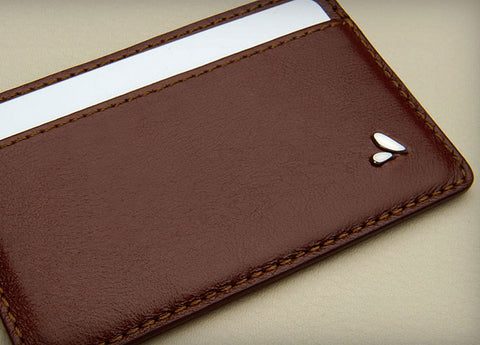 Ultra Thin Leather Cards Holder