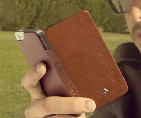 Natural Leather iPhone SE Cases