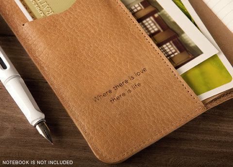 Premium Leather Journal Cover