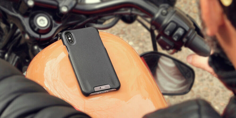 Grip iPhone Xs Max Leather Cases