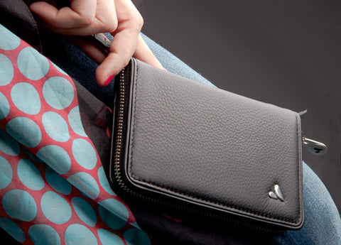 Premium Leather Lady Clutch for Smartphones