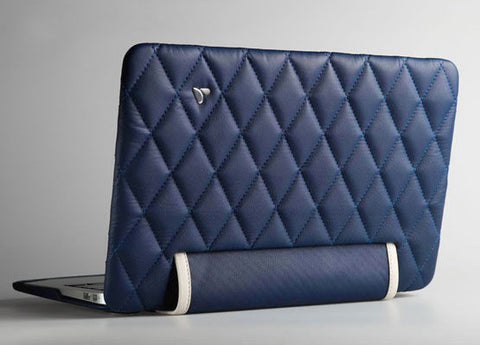 "MacBook Air 13"" Quilted Leather Case"