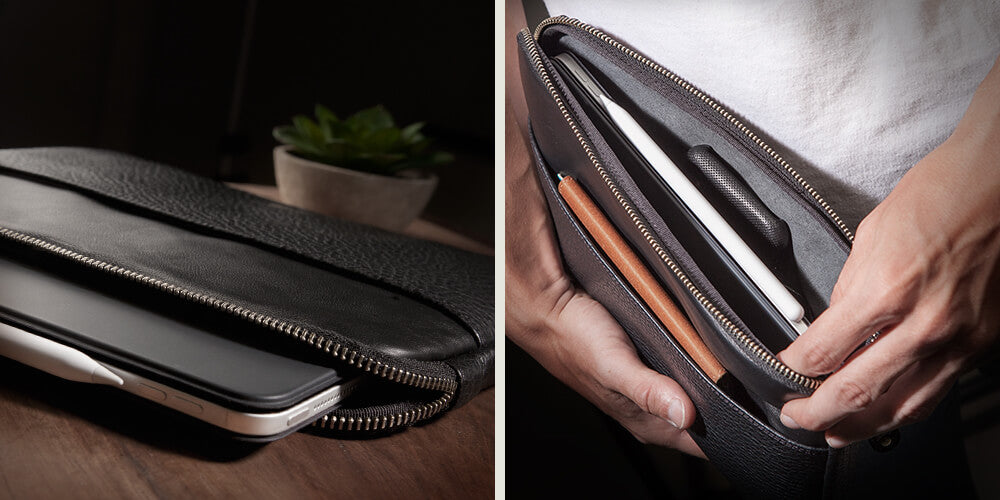 12.9'' Tablet Leather Sleeve