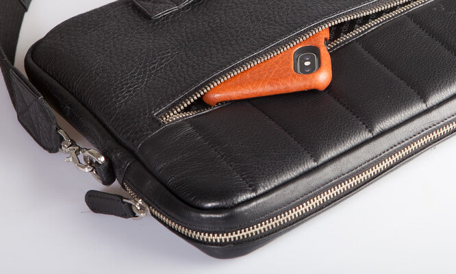 13'' Laptop Leather Bag