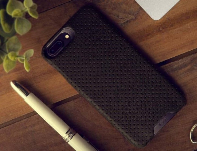 Two-Tone Grip LP iPhone 7 Plus leather case
