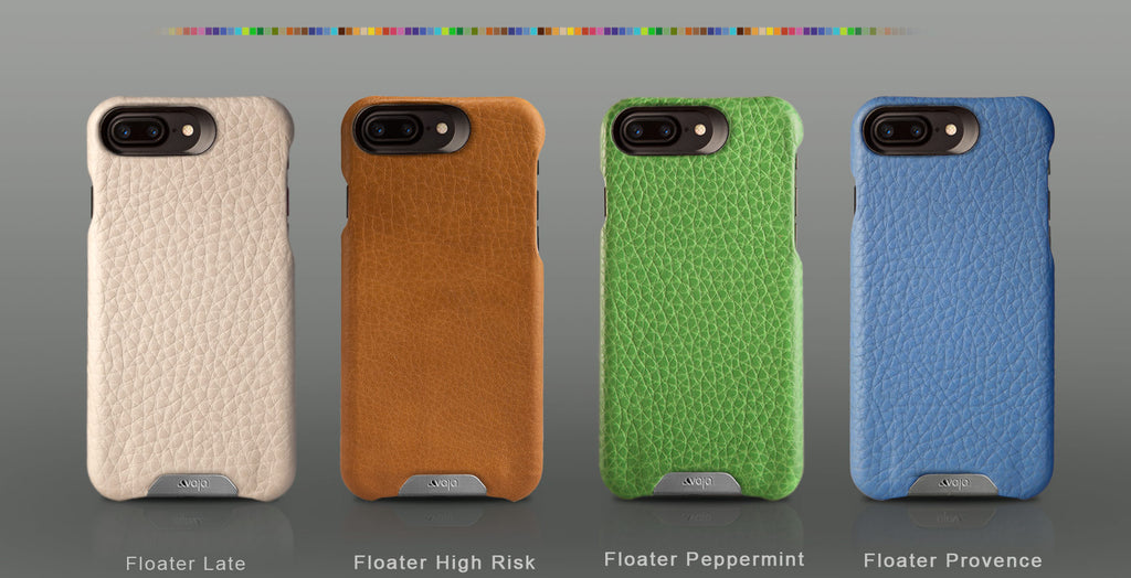 Customizable Grip iPhone 7 Plus leather case