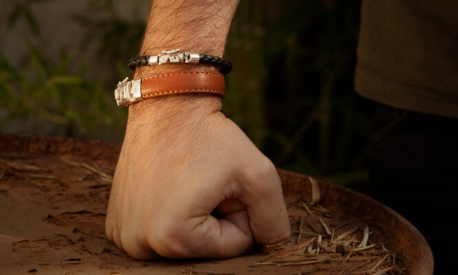 Belize Leather Bracelet