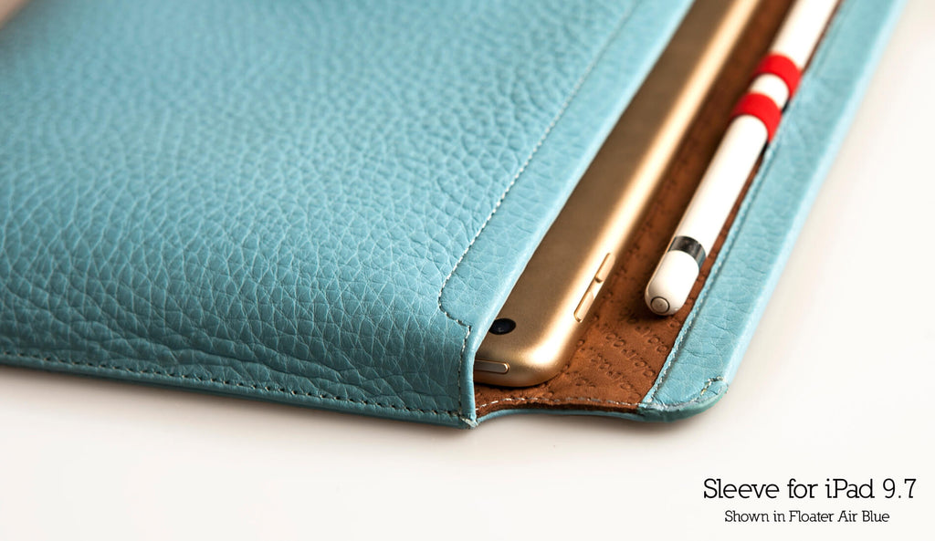 Customizable Leather Sleeve 9.7 Case