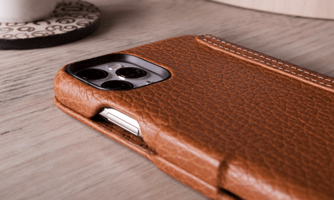 Customizable iPhone 11 Pro Max Folio leather case