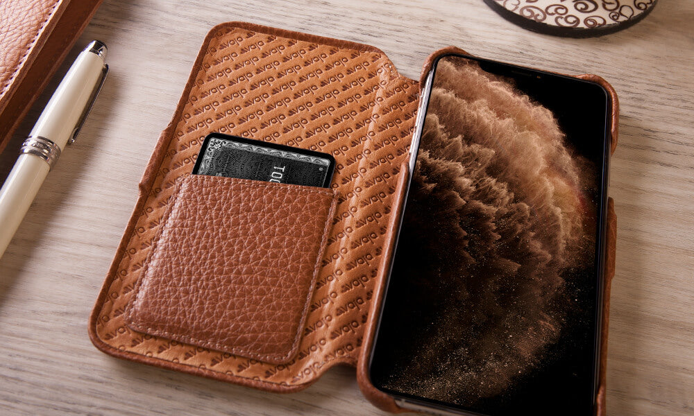 Customizable iPhone 11 Pro Folio leather case