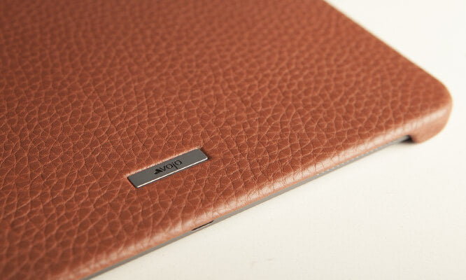 "Customizable Grip iPad Pro 12.9"" leather case"