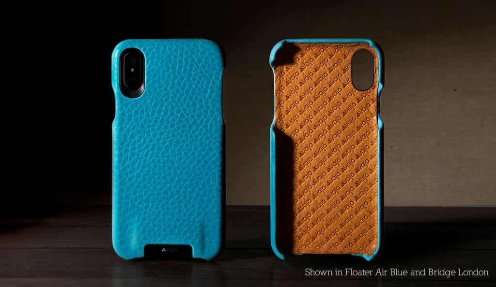 Grip Custom iPhone X / iPhone Xs Leather Case