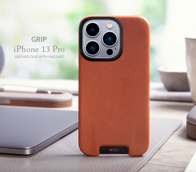 Grip iPhone 13 Pro Max MagSafe leather case
