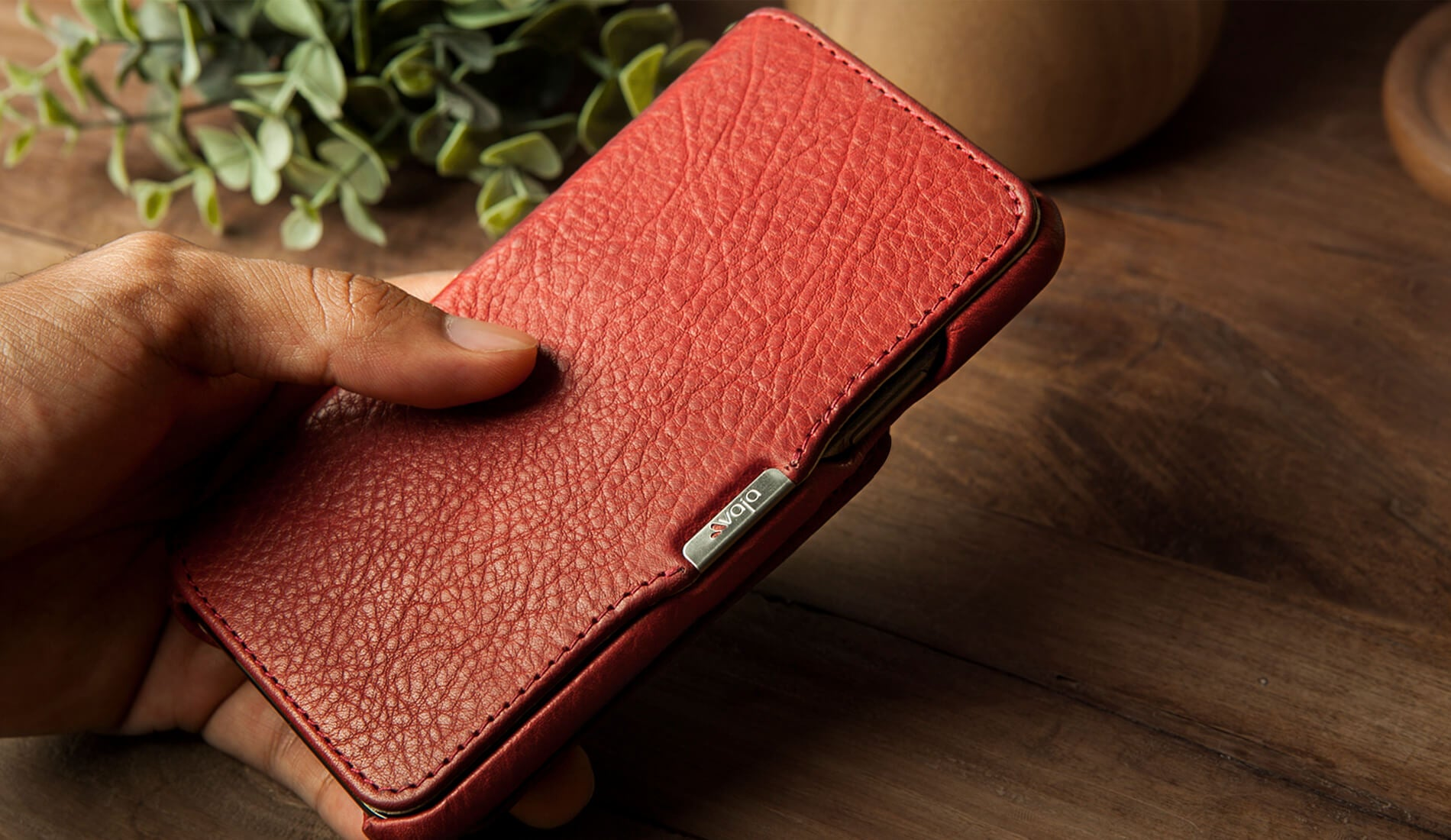 Niko Wallet iPhone X / iPhone Xs leather case