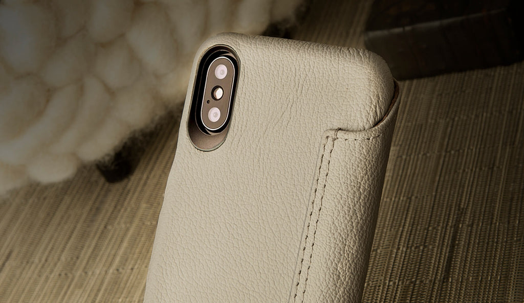 MG iPhone X / iPhone Xs Leather Case