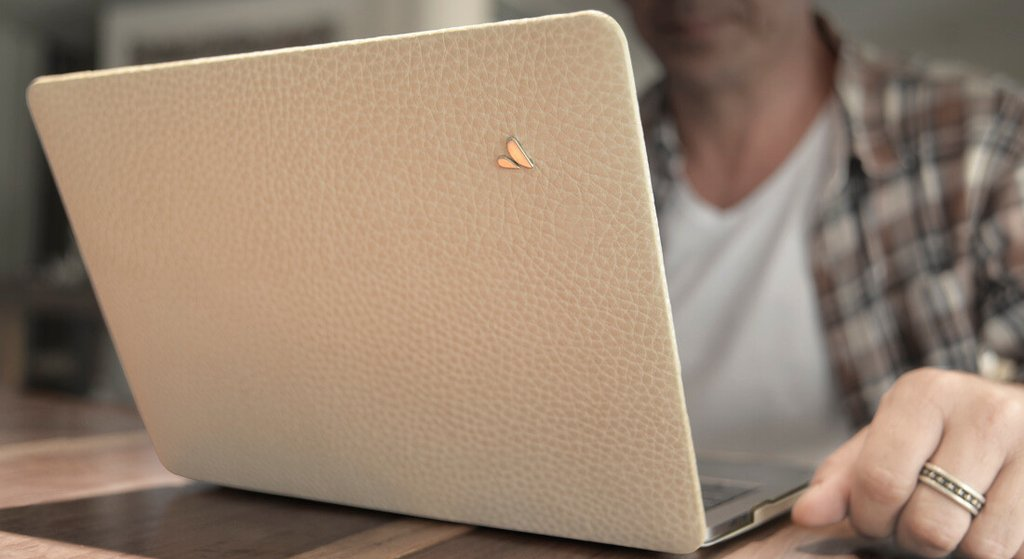 Custom MacBook Pro Touch Bar 13 Leather Case