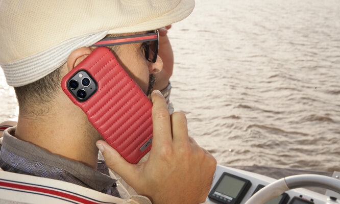 Rider Grip iPhone 11 Pro leather case