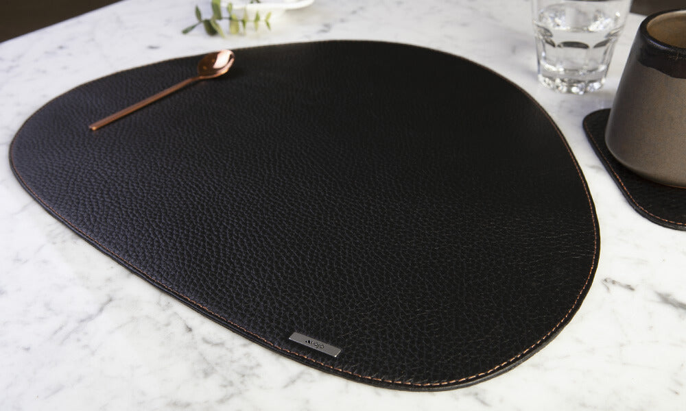 Thai leather placemat