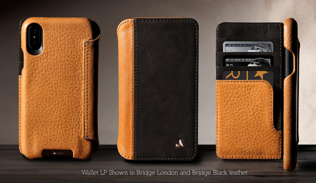 Customizable Wallet LP for iPhone X / iPhone Xs Leather Case