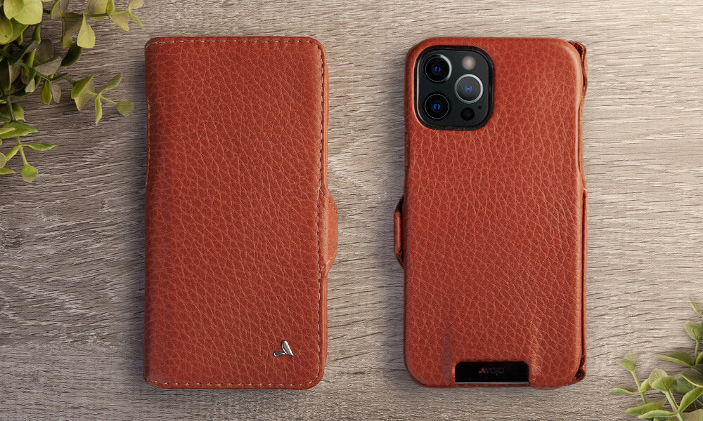 iPhone 12 Wallet leather case