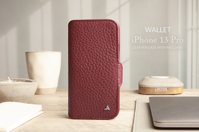 iPhone 13 Pro Wallet Leather Case