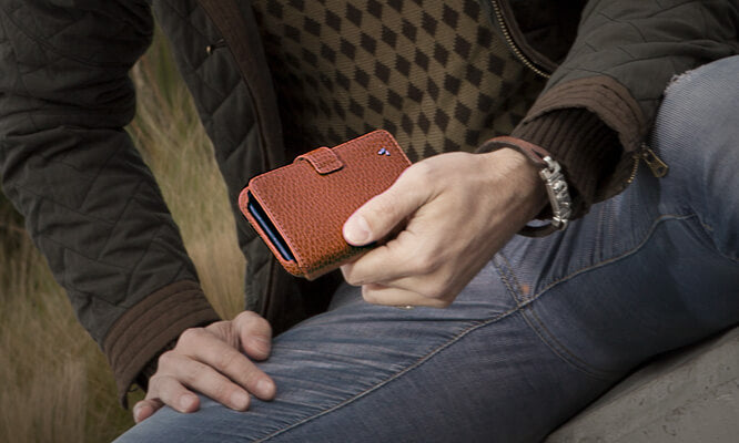 iPhone 11 Wallet leather case