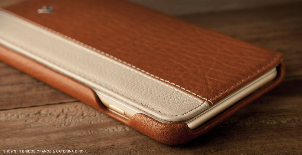 Two-tone iPhone 6/6s Plus Leather Case