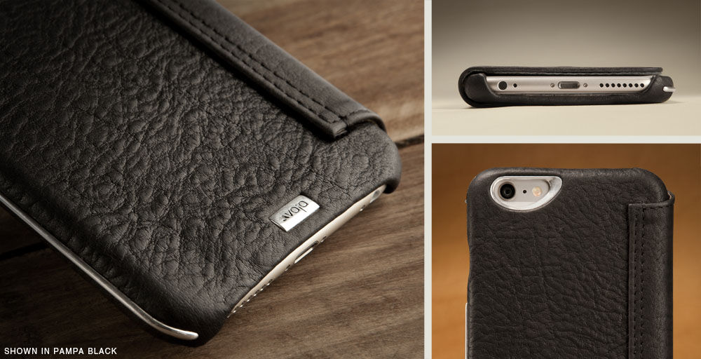Luxury iPhone 6/6s Plus leather cases
