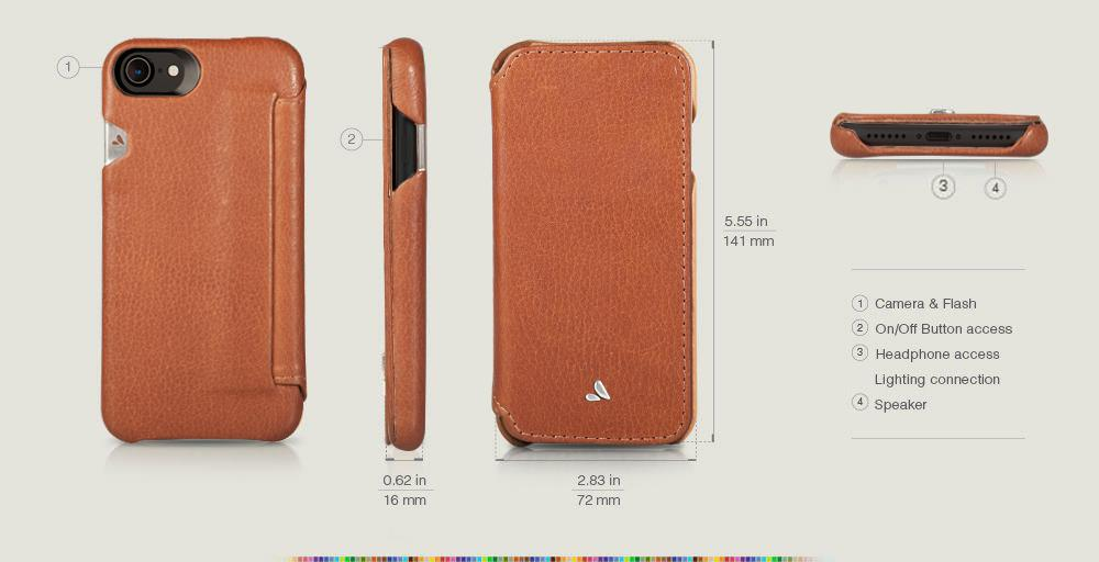 Custom Agenda for iPhone 8 Leather Cases