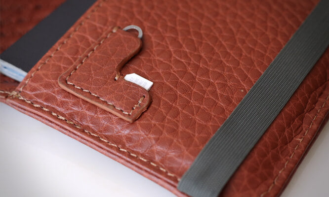 Custom Alfa Leather Passport Holder