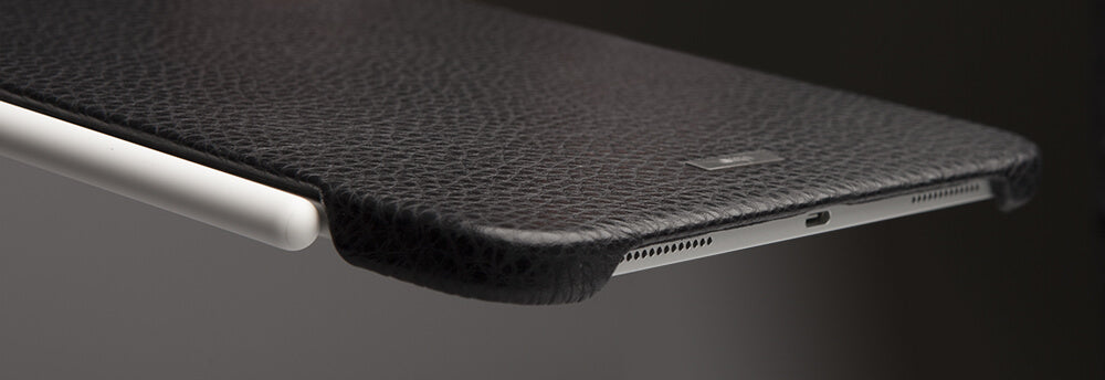 Custom Grip iPad Pro 12.9 Leather Case