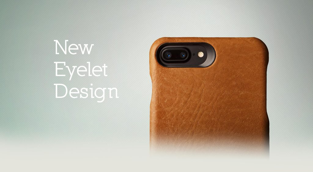 Custom Grip for iPhone 8 Plus Leather Cases