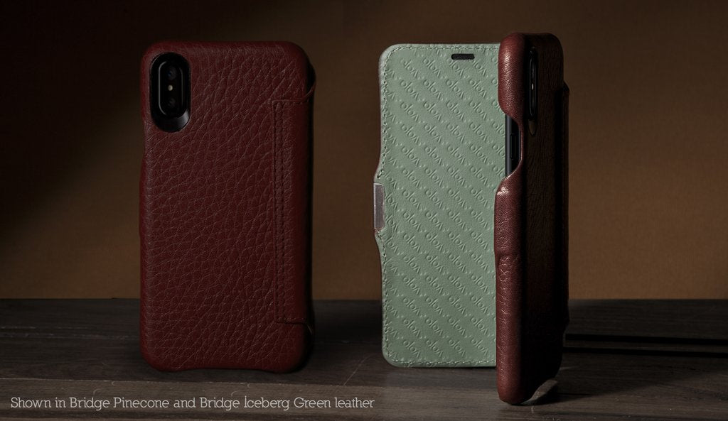 Customizable Agenda MG for iPhone X / iPhone Xs Leather case