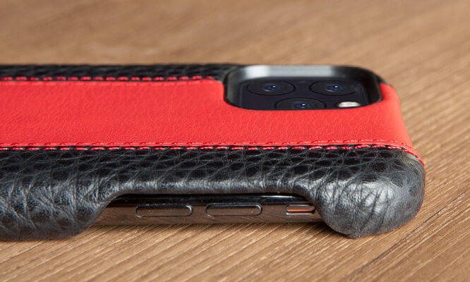 Custom GT GRIP iPhone 11 PRO leather case
