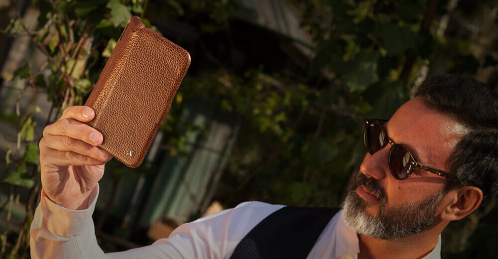 Folio iPhone Xs Max Leather Cases