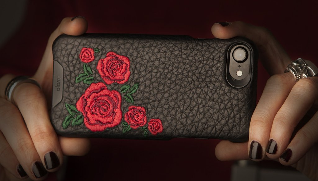Limited Edition Grip Amy iPhone 8 Leather Cases