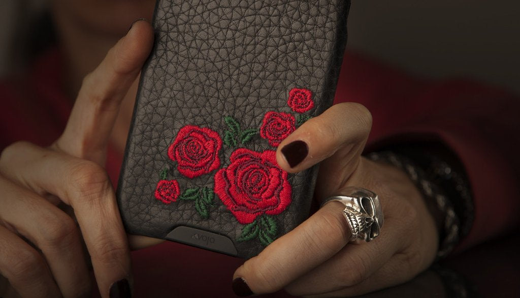 Grip Amy for iPhone 8 Plus Leather Cases