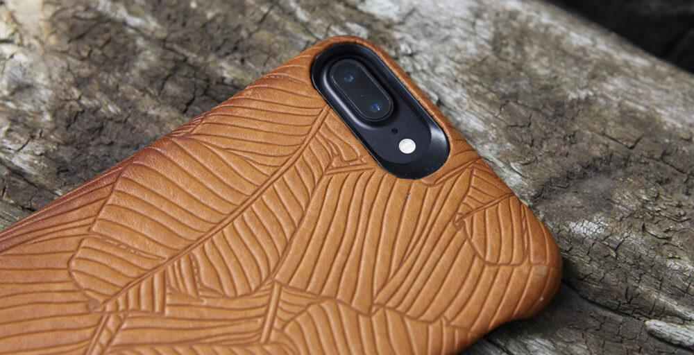 Grip iPhone 8 Plus Leather Cases