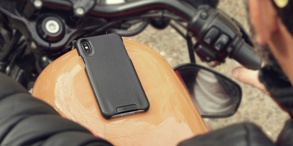 Custom Grip iPhone Xs Max Leather Cases