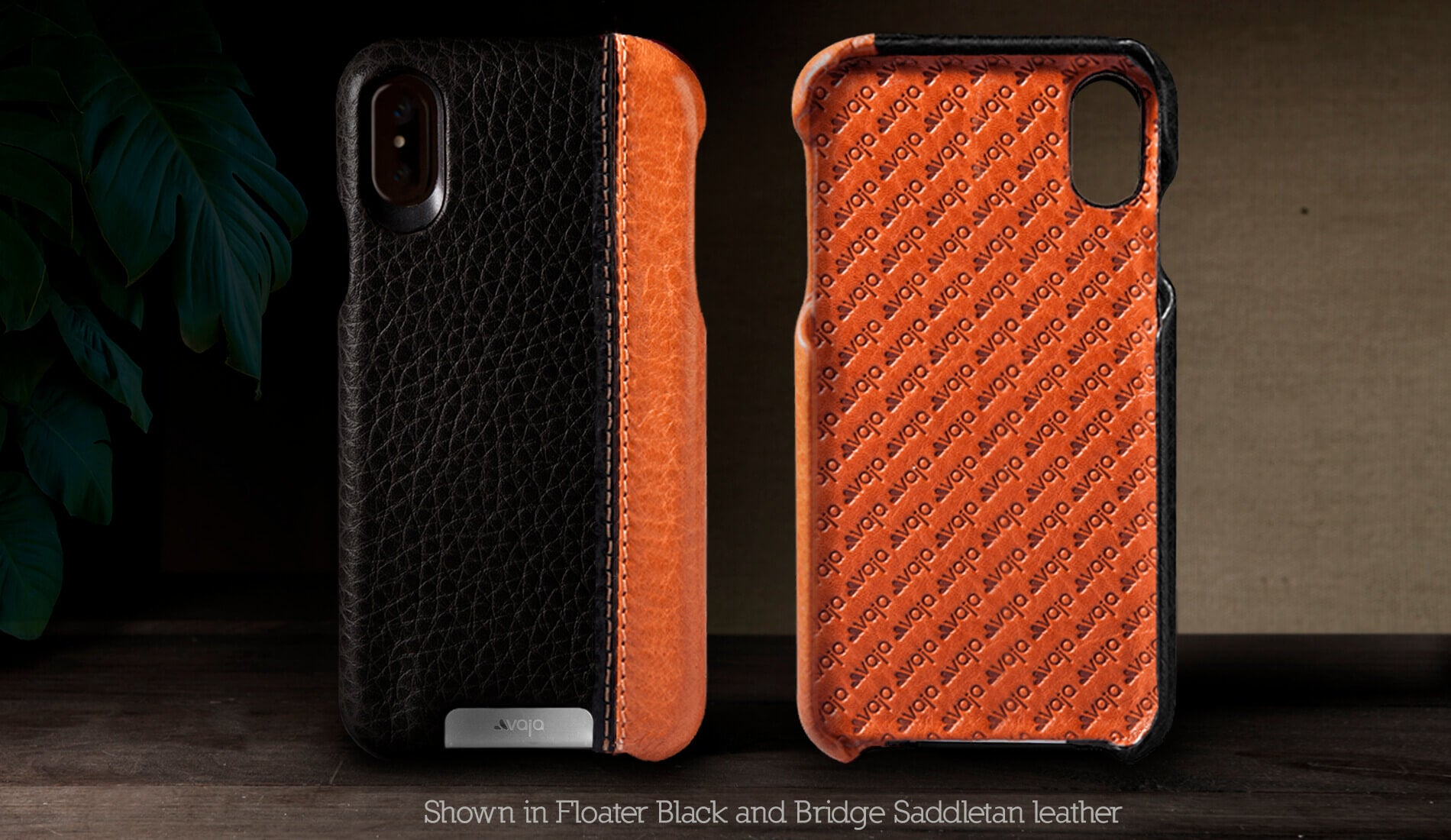 Grip LP for iPhone X / iPhone Xs Leather Case