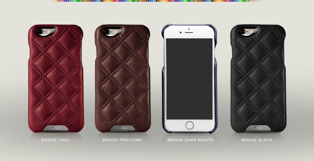 Quilted iPhone 6/6s Leather Case
