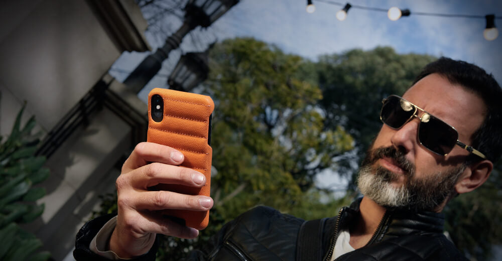 Grip Rider iPhone Xs Max Leather Cases