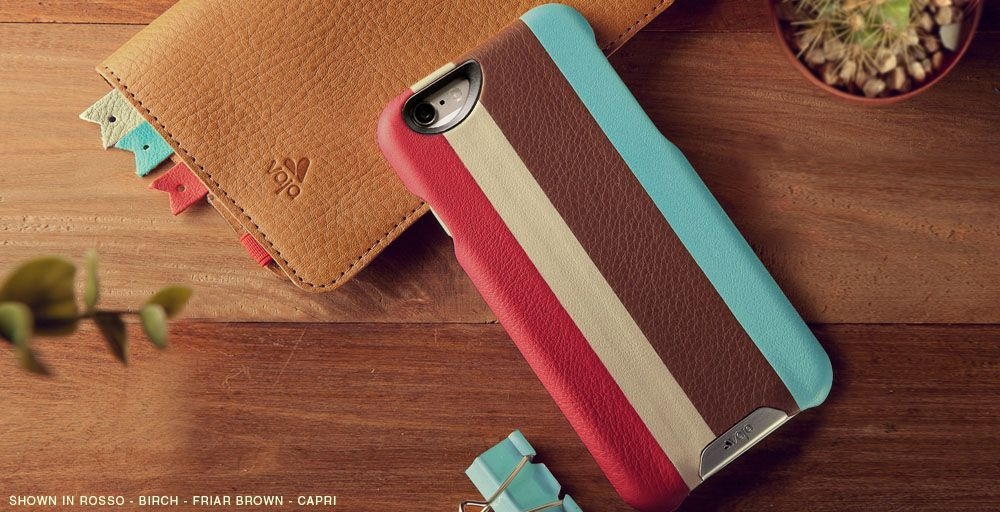 Multicolored iPhone 6/6s Leather Cases