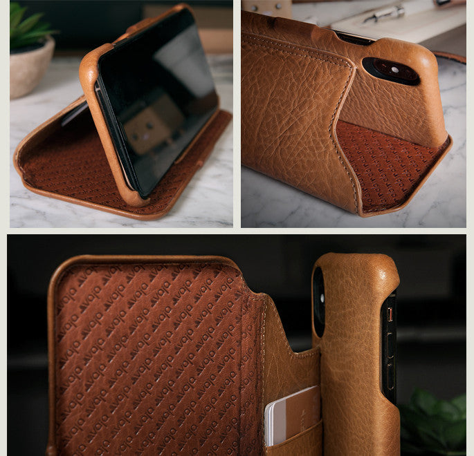 ac2f548d39 CUSTOM FOLIO IPHONE XS MAX LEATHER CASE