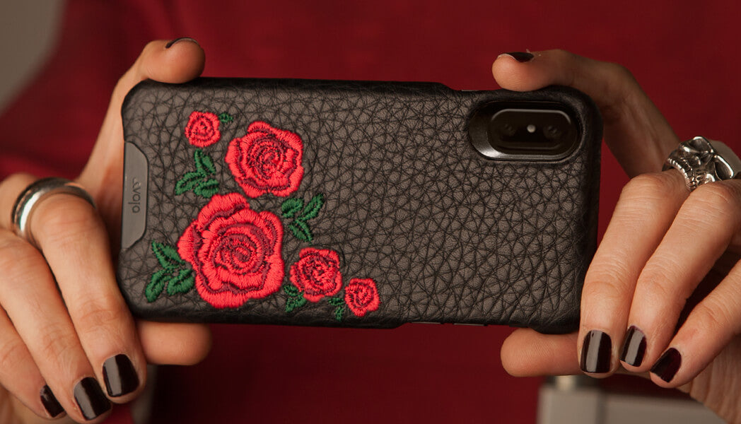 Grip AMy for iPhone X / iPhone Xs Leather case