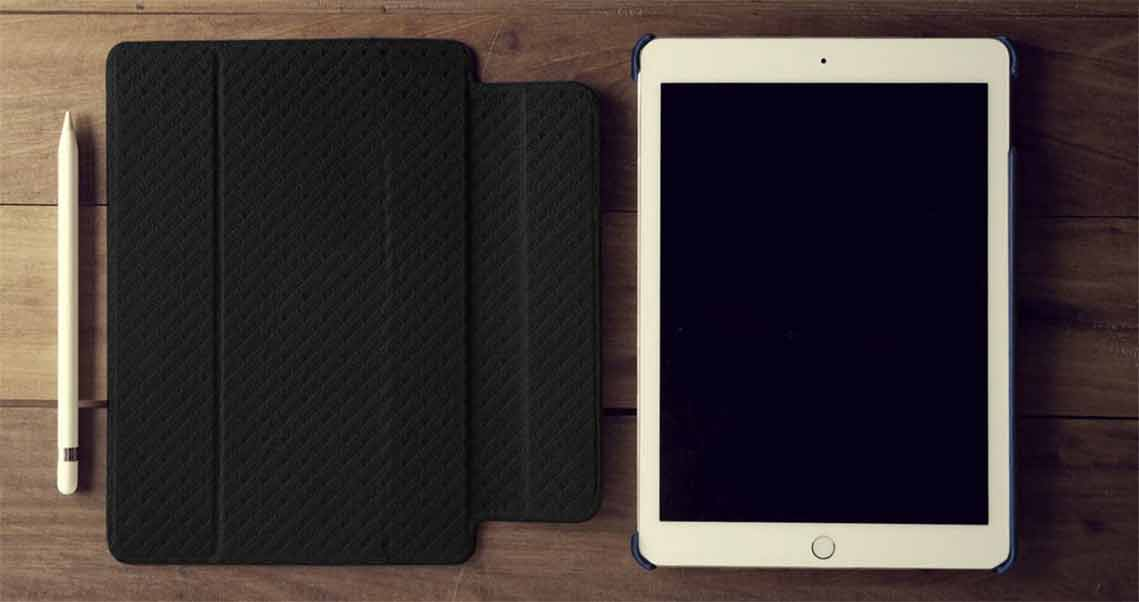 Vaja's iPad leather case