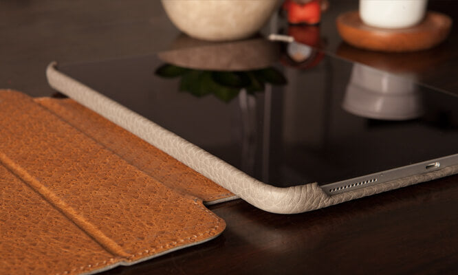 iPad Pro 12.9'' libretto leather case