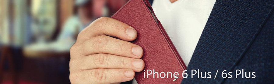 iPhone 6 Plus and 6s Plus Leather Cases