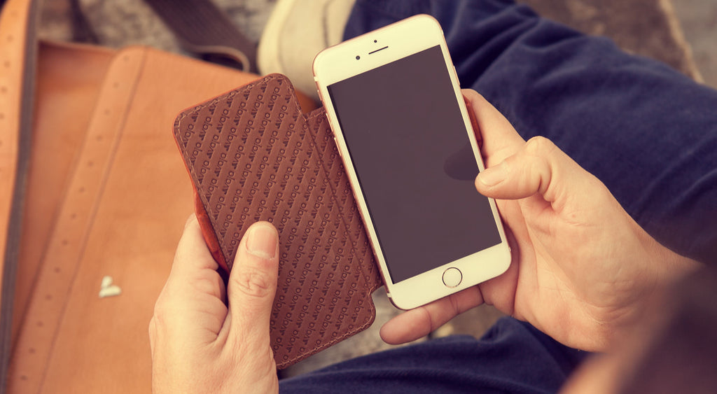 iPhone 7 Nuova Pelle Leather Case