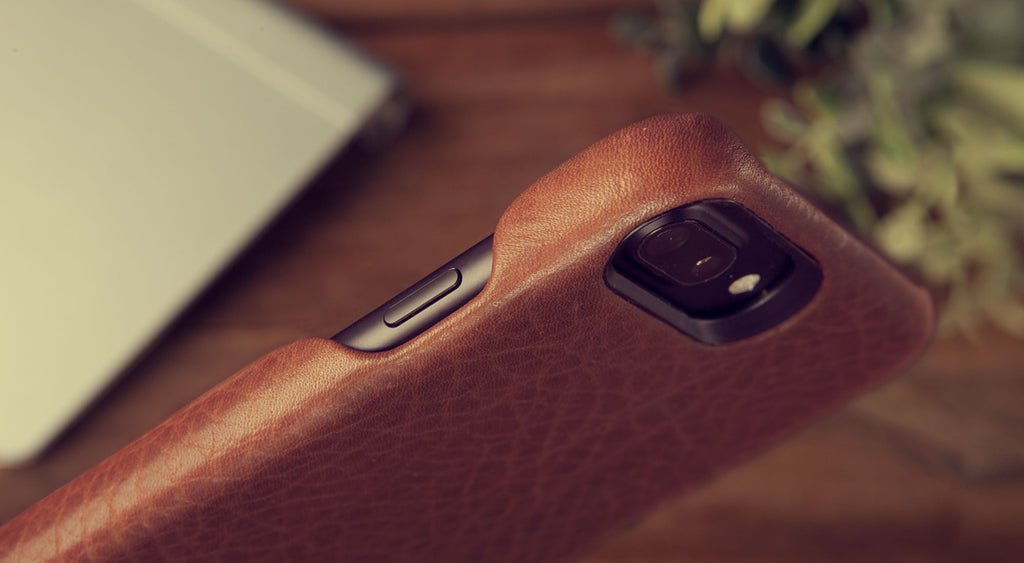 Grip iPhone 7 Plus premium leather case